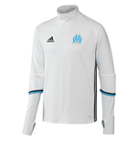 2016-2017 Marseille Adidas Training Top (White)