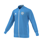 2016-2017 Marseille Adidas Anthem Jacket (Blue)