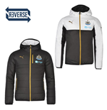 2016-2017 Newcastle Puma Reversible Jacket (Black-White)