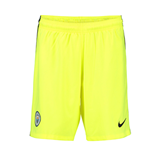 2016-2017 Man City Home Nike Goalkeeper Shorts (Volt)