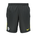 2016-2017 Man City Nike Squad Training Shorts (Dark Grey)