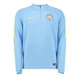 2016-2017 Man City Nike Training Drill Top (Field Blue)