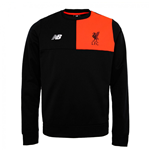 2016-2017 Liverpool Elite Training Sweat Top (Black) - Kids