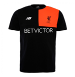 2016-2017 Liverpool Cotton Training Tee (Black)