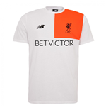 2016-2017 Liverpool Cotton Training Tee (White)