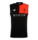 2016-2017 Liverpool Elite Sleeveless Training Vest (Black)