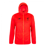 2016-2017 Liverpool Elite Training Rain Jacket (Red)