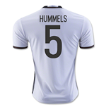 2016-2017 Germany Home Shirt (Hummels 5)