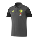 2016-2017 Chelsea Adidas Training Polo Shirt (Dark Grey)