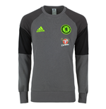 2016-2017 Chelsea Adidas Sweat Top (Dark Grey)