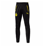 2016-2017 Borussia Dortmund Puma Training Pants with Pockets (Black)