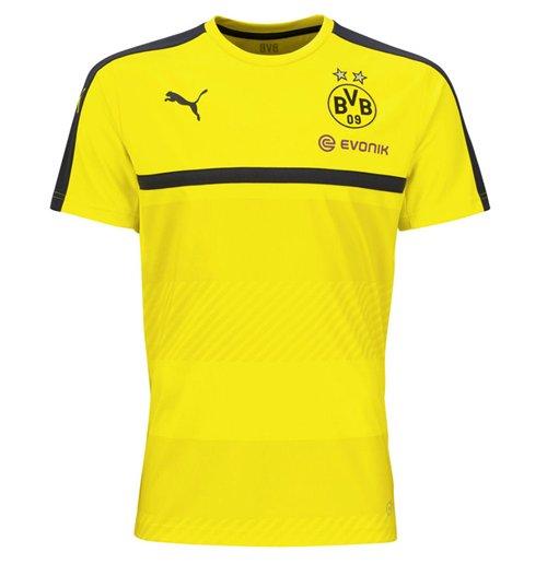 info for 9ccdd c0fb8 2016-2017 Borussia Dortmund Puma Training Shirt (Yellow) - Kids