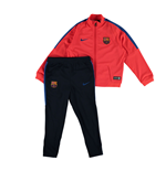 2016-2017 Barcelona Nike Baby Tracksuit (Crimson) - Infants