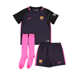 2016-2017 Barcelona Away Nike Little Boys Mini Kit