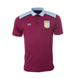 2016-2017 Aston Villa Team Polo Shirt (Royal Magenta)