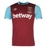 2016-2017 West Ham Home Football Shirt