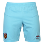 2016-2017 West Ham Away Football Shorts (Kids)
