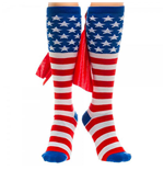American Flag Knee High Women's Cape Socks