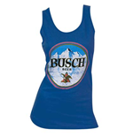 Women's BUSCH Blue Tank Top