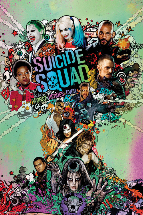 Suicide Squad One Sheet Maxi Poster