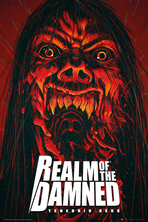 Realm of The Damned Scream Maxi Poster