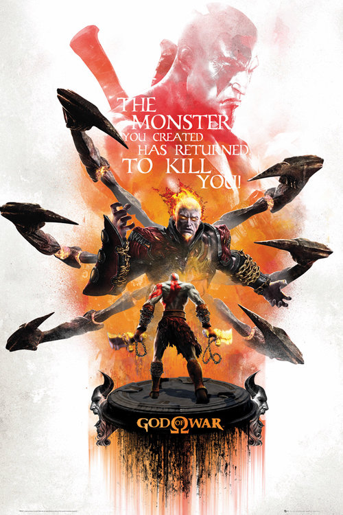 God of War Key Art 2 Maxi Poster