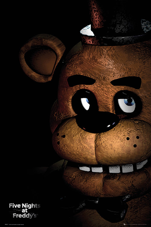Five Nights At Freddy's Fazbear Maxi Poster