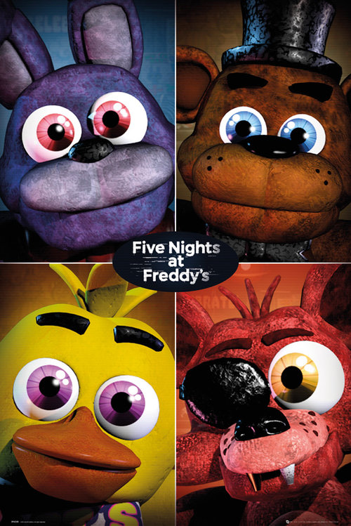 Five Nights At Freddy's Quad Maxi Poster