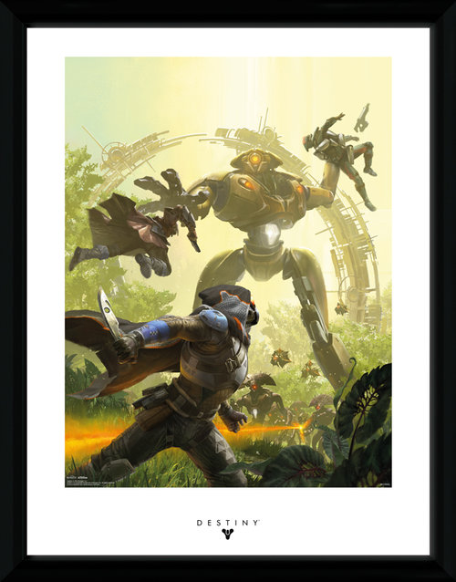 Destiny Vex Framed Collector Print