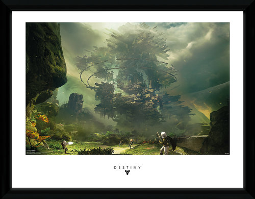 Destiny The Fortress Framed Collector Print