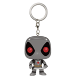 Marvel Comics Pocket POP! Vinyl Keychain Deadpool X-Force Costume 4 cm