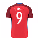 2016-17 England Away Shirt (Vardy 9)