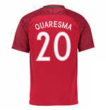 2016-17 Portugal Home Shirt (Quaresma 20)