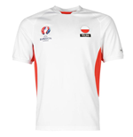 Poland UEFA Euro 2016 Poly Training Tee (White)