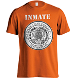 Prison Break T-Shirt Fox River Inmate Orange