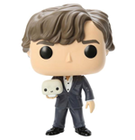 Sherlock POP! TV Vinyl Figure Sherlock with Skull 9 cm