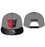 Transformers Adjustable Cap Autobot vs Deception