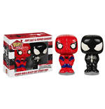 Marvel Comics POP! Home Salt and Pepper Pots Spider-Man & Black Suit Spider-Man