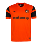 2016-2017 Dundee United Home Football Shirt