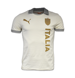 2015-2016 Italy Puma T7 Polo Shirt (Birch)