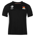 Germany UEFA Euro 2016 Poly Training Tee (Black)
