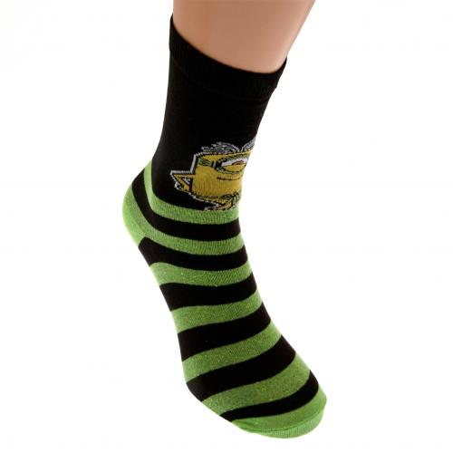 Minions Mens Socks 1 Pack 6-11 GR