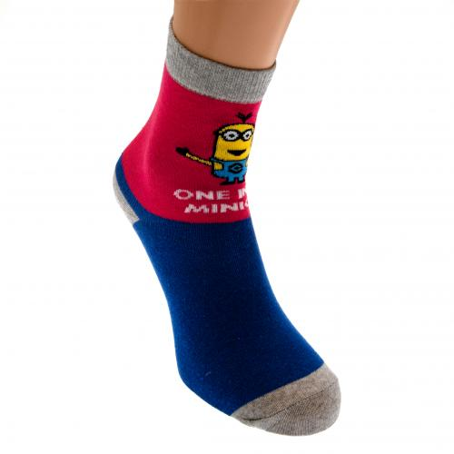 Minions Ladies Socks 1 Pack 6-8 BP