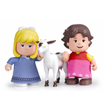 Heidi Dolls - Heidi, Clara and the little sheep