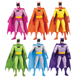 Batman Action Figure 6-Pack Rainbow 17 cm