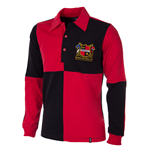 Sheffield FC 1950's Long Sleeve Retro Shirt 100% cotton