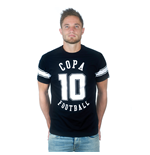 Number 10 T-Shirt // Black 100% cotton