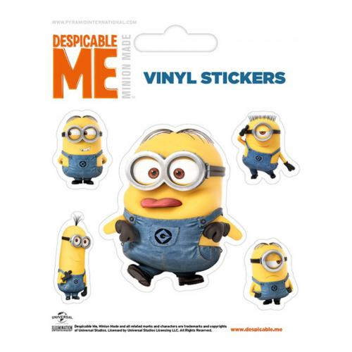 Despicable Me Stickers