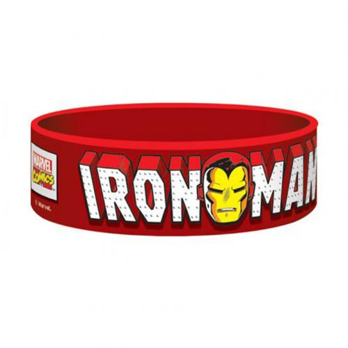 Marvel Comics Silicone Wristband Iron Man