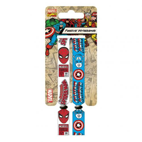 Marvel Comics Festival Wristbands